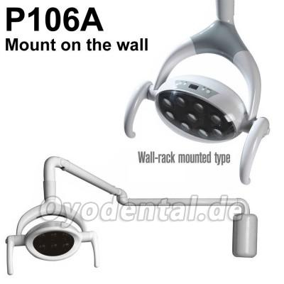 28W Dental Oral Licht Patient Lampe 9 LED Lampe P106A (an der Wand montiert)