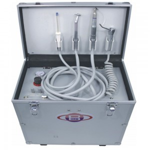 Best® BD-402 Mobile Dentaleinheit + Kompressor +Saugsystem +Multifunktionsspritze
