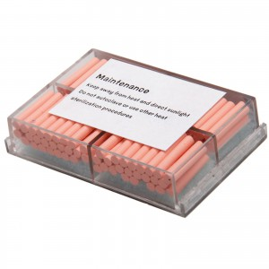 1 Box/100pcs Dental Guttaperchabalken für Obturationssystem Endodontie