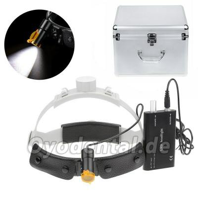 Dental Medical 5W LED-Scheinwerfer mit Filterkopfbügelscheinwerfer + Aluminiumbox