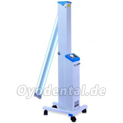 FY® 30DC Mobile tragbare medizinische UV + Ozondesinfektion Auto UV-Lampe Sterilisatorwagen Philips UV-Lampen Röhre 30W