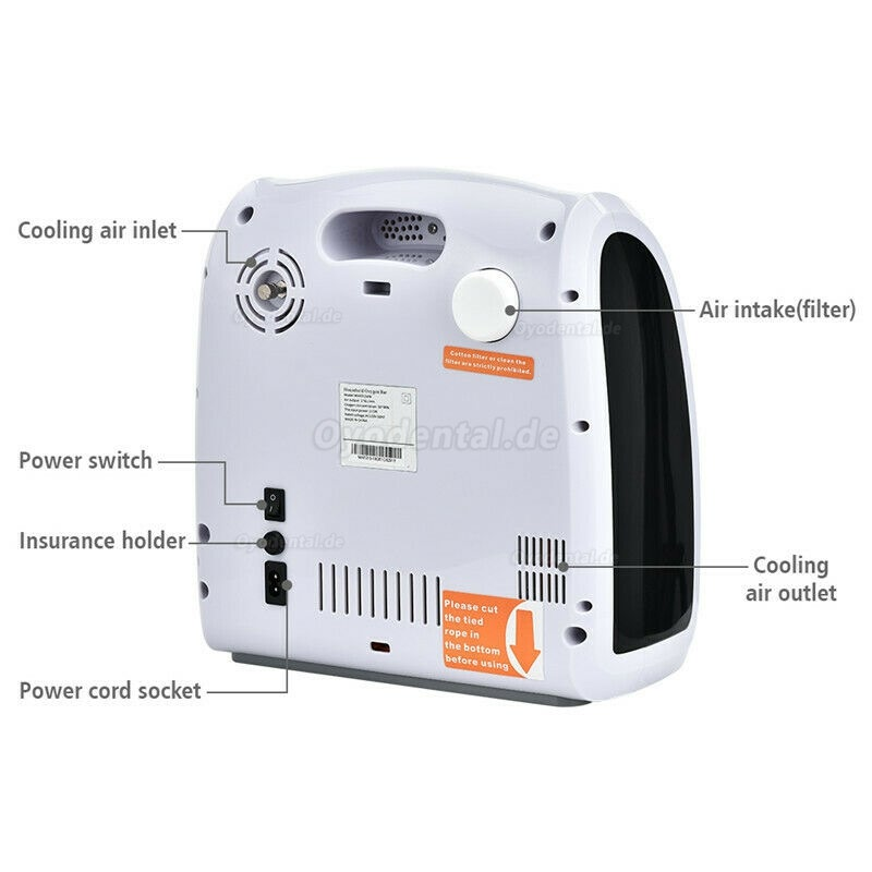 O Concentrator Machine Efficient Air Generator Air Purifier 90% 1-6L
