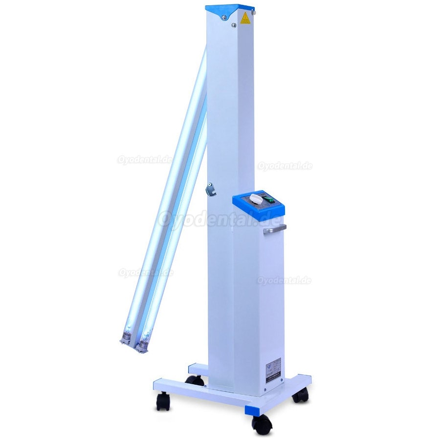 FY® 30DC Mobile Portable Medical UV Disinfection Ultraviolet Lamp Sterilizer Trolley Philips UV Lamps Tube 30W×2
