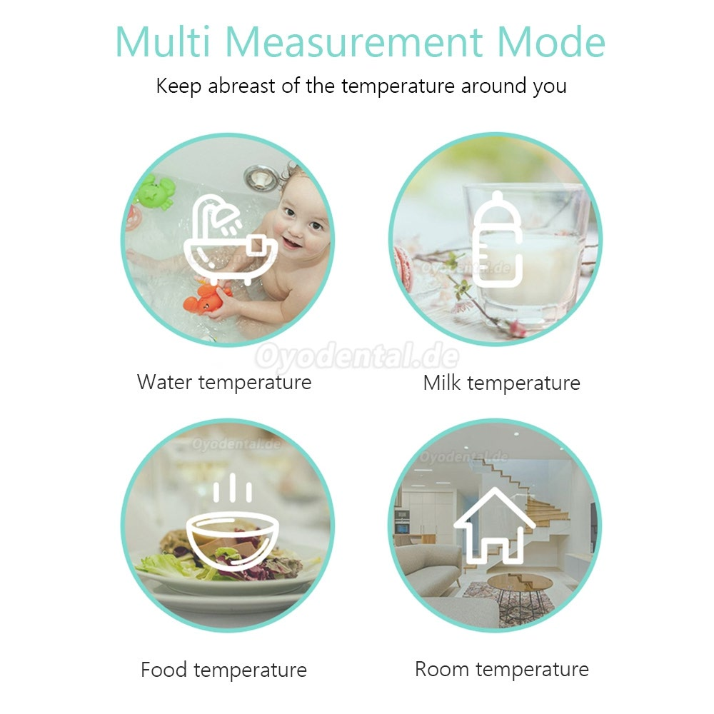 Digital Infrared Thermometer Non-Contact IR Thermometer Infrared Celsius and Fahrenheit Switchable Forehead Thermometer