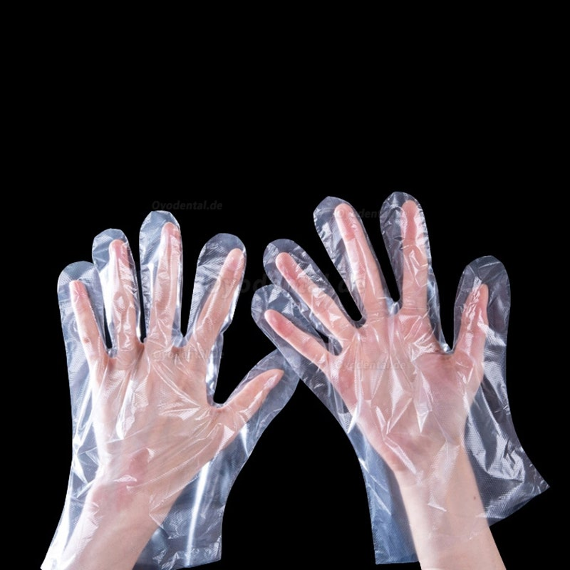 1000/2000pcs Plastic Disposable Gloves For Restaurant Kitchen BBQ Eco-friendly Food Gloves Fruit Vegetable One-off Gloves